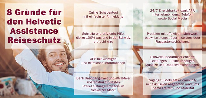 Informationen Helvetic Assistance klicken