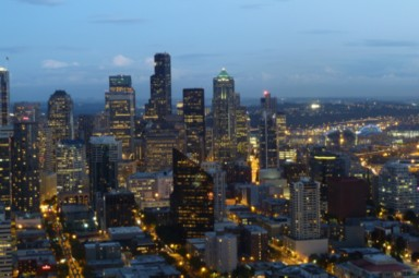 Aussicht vom Space Needle Seattle