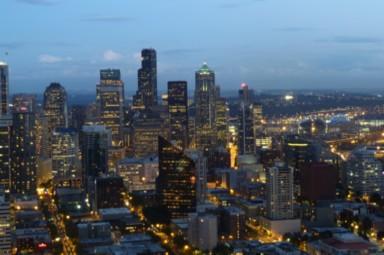 Aussicht vom Space Needle Seattle
