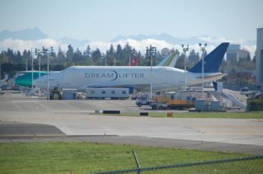 Boeing-Werk in Everett, WA
