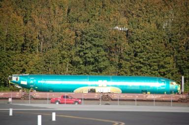 Neue Arbeit fürs Boeing-Werk wird angeliefert