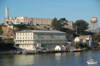 Alcatraz, das berühmt berüchtigte Hochsicherheitsgefängnis in der Bucht von San Francisco.