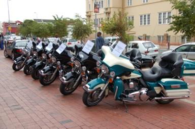 HarleyTour 2010: Übernahme der Bikes