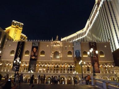 """""""Unser"""" Hotel, das VENETIAN RESORT am Strip von Las Vegas"""