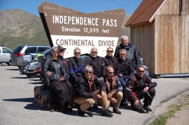 Wasserscheide, mit rund 3690 Metern zweithöchster Punkt der Tour