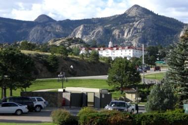 """das """"gemütliche"""" Hotel aus dem Film """"Shining"""" in Estes Park"""