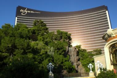 """""""Unser"""" Hotel Wynn, direkt am Strip"""