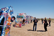 Cadillac-Ranch, Amarillo TX