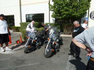 Inspektion bei Übernahme der Harley's