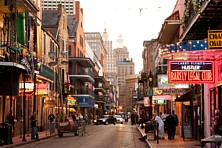 Bourbon-Street, New Orleans