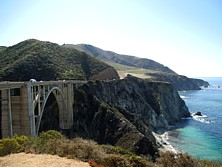Bixby-Bridge am Highway No. 1