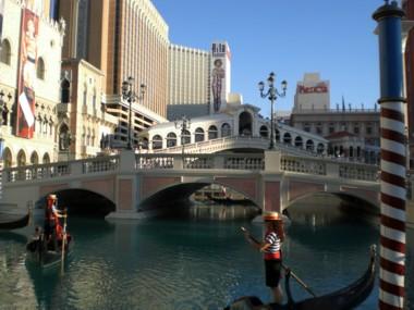 nicht Venedig: Las Vegas...