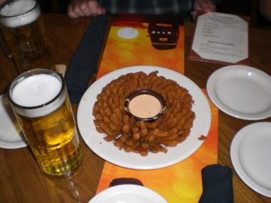 Blooming Onion im Outback-Steakhouse